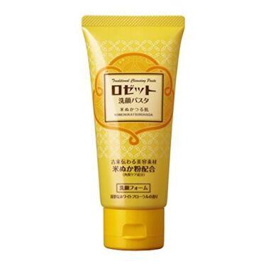 ロゼットロゼット洗顔パスタ 米ぬかつる肌