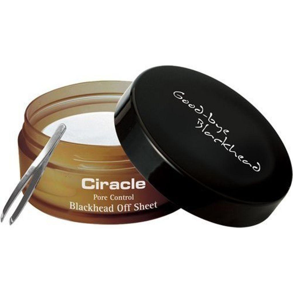 Pore control Blackhead off sheet ビューティシート Ciracle