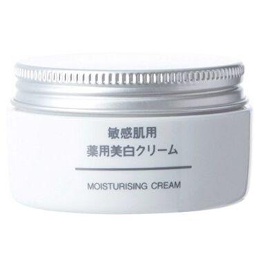 敏感肌用薬用美白クリーム / 無印良品
