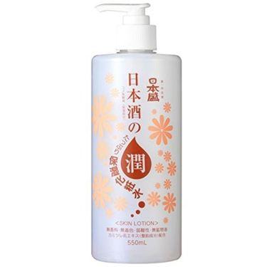 日本酒のたっぷり保湿化粧水