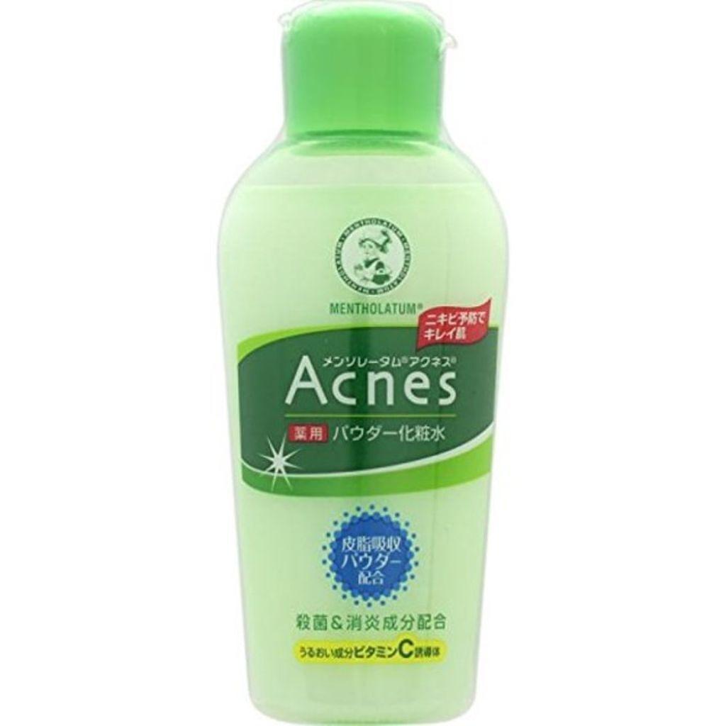 メンソレータム アクネスの薬用パウダー化粧水