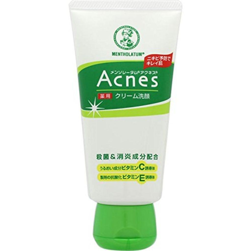 メンソレータム アクネスの薬用クリーム洗顔