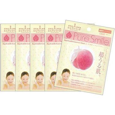 Pure Smile(ピュアスマイル) ピーチミルクエッセンスマスク