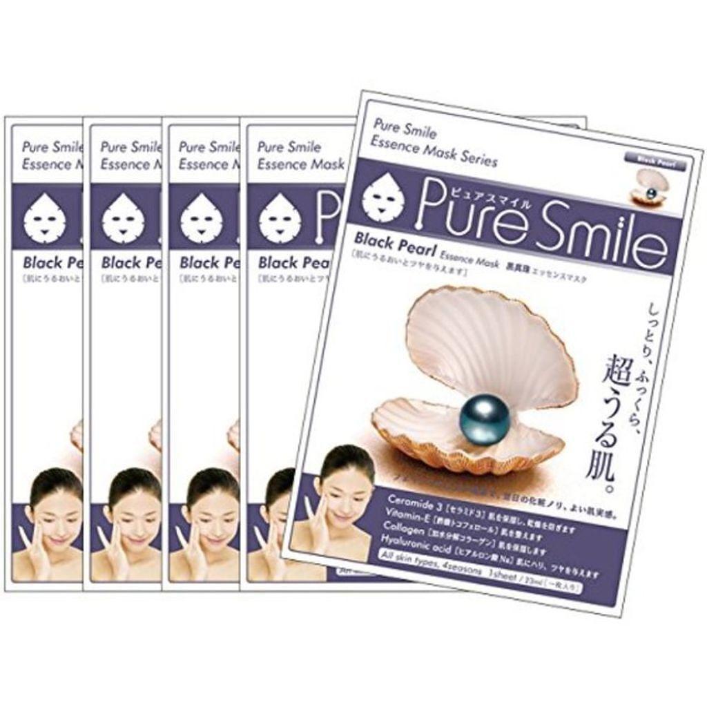 Pure Smile(ピュアスマイル) エッセンスマスク 黒真珠