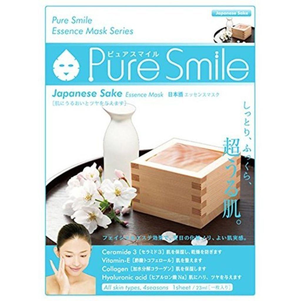 Pure Smile(ピュアスマイル) エッセンスマスク 日本酒