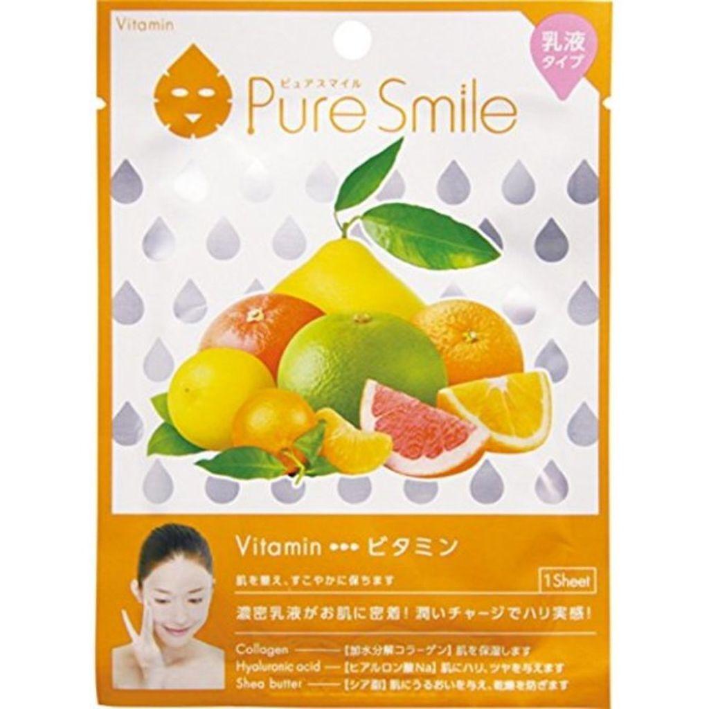 Pure Smile(ピュアスマイル) 乳液エッセンスマスク ビタミン