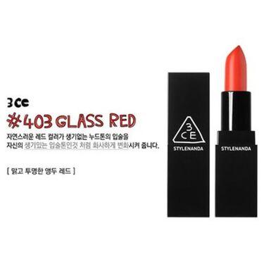 3CE GLASS LIP COLOR