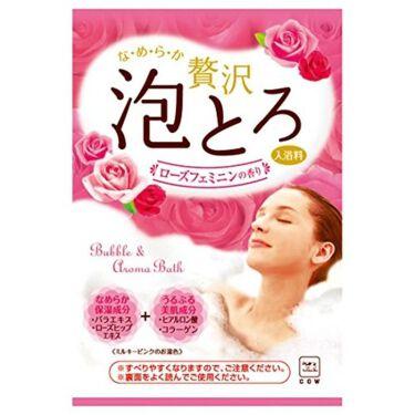 贅沢泡とろ 入浴料 ローズフェミニンの香り / お湯物語