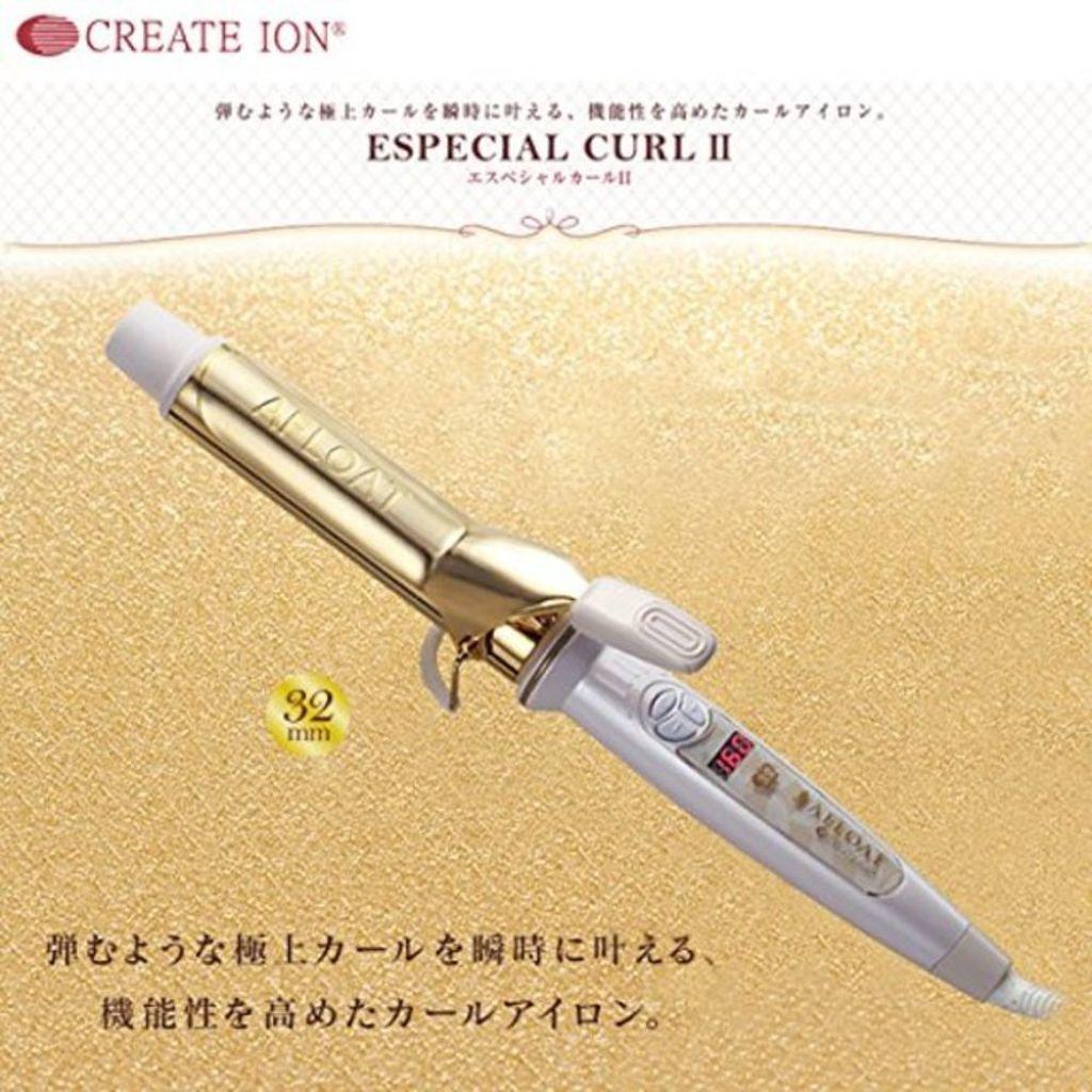 クレイツ イオンアイロン エスペシャルカール32mm