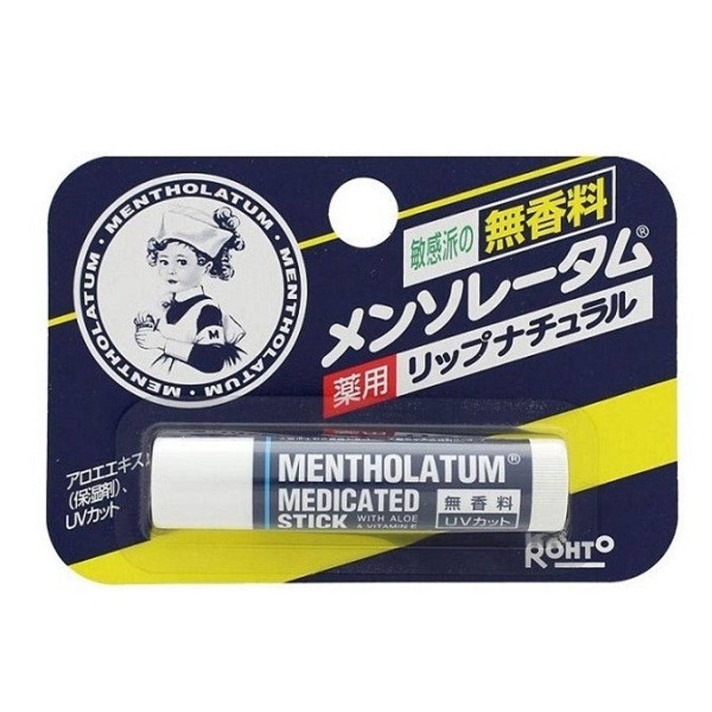 メンソレータム 薬用リップNJ(薬用リップナチュラル)