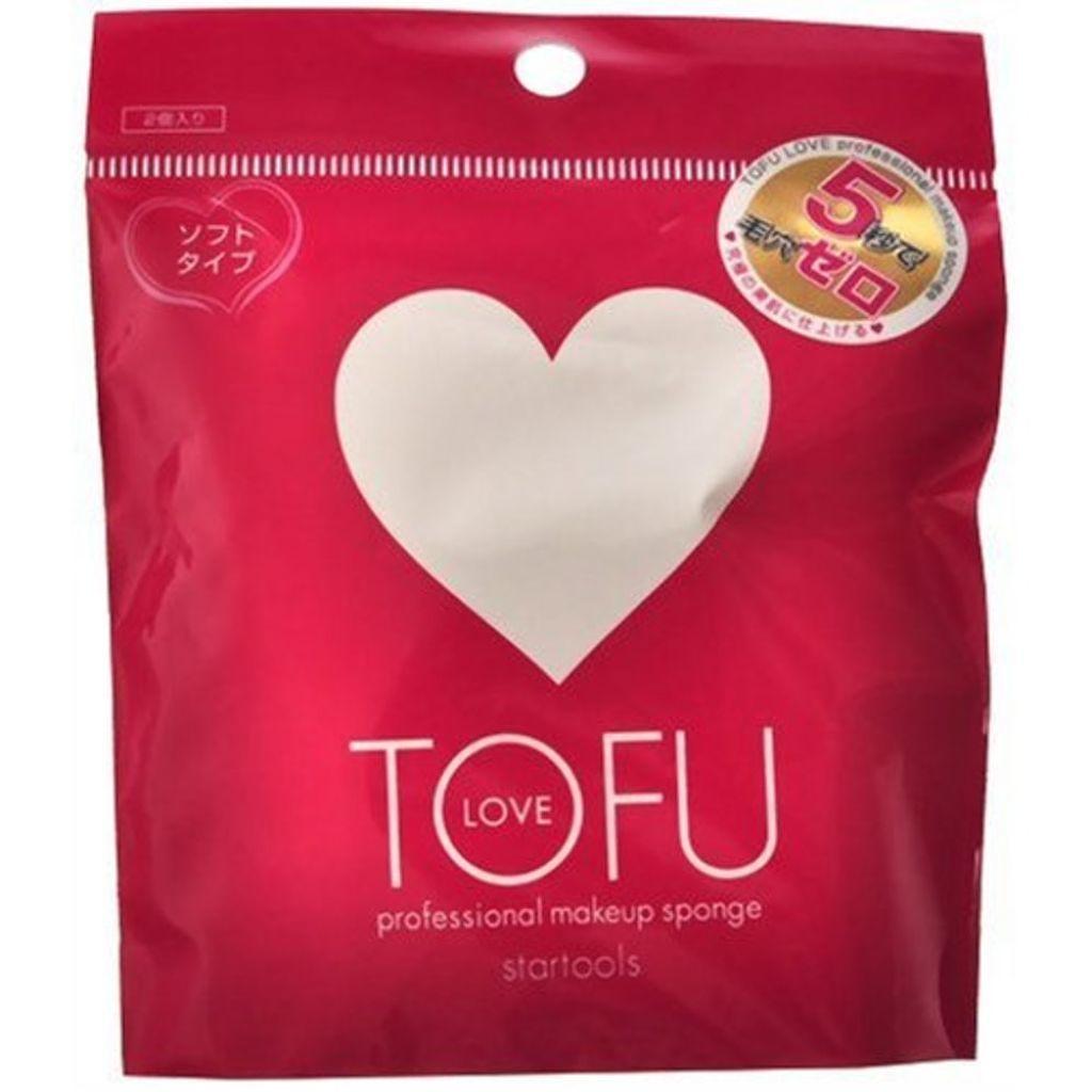 TOFU,LOVE プロフェッショナル メイクアップ スポンジ