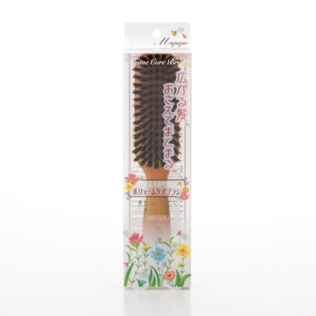 マペペ 濃密天然毛のボリュームケアブラシ