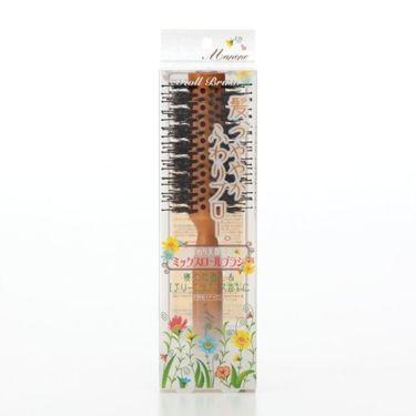 マペペ ふんわり天然毛のミックスロールブラシ