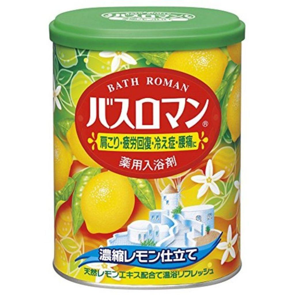 バスロマンのバスロマン 濃縮レモン仕立て