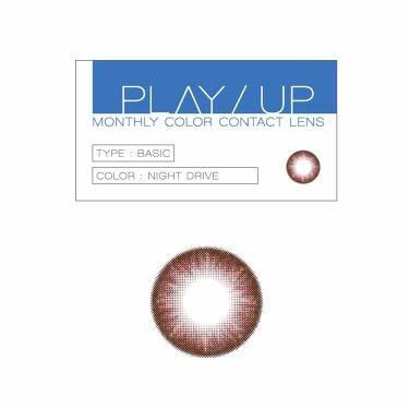 PLAY/UP monthly color contact lens / カラーコンタクト