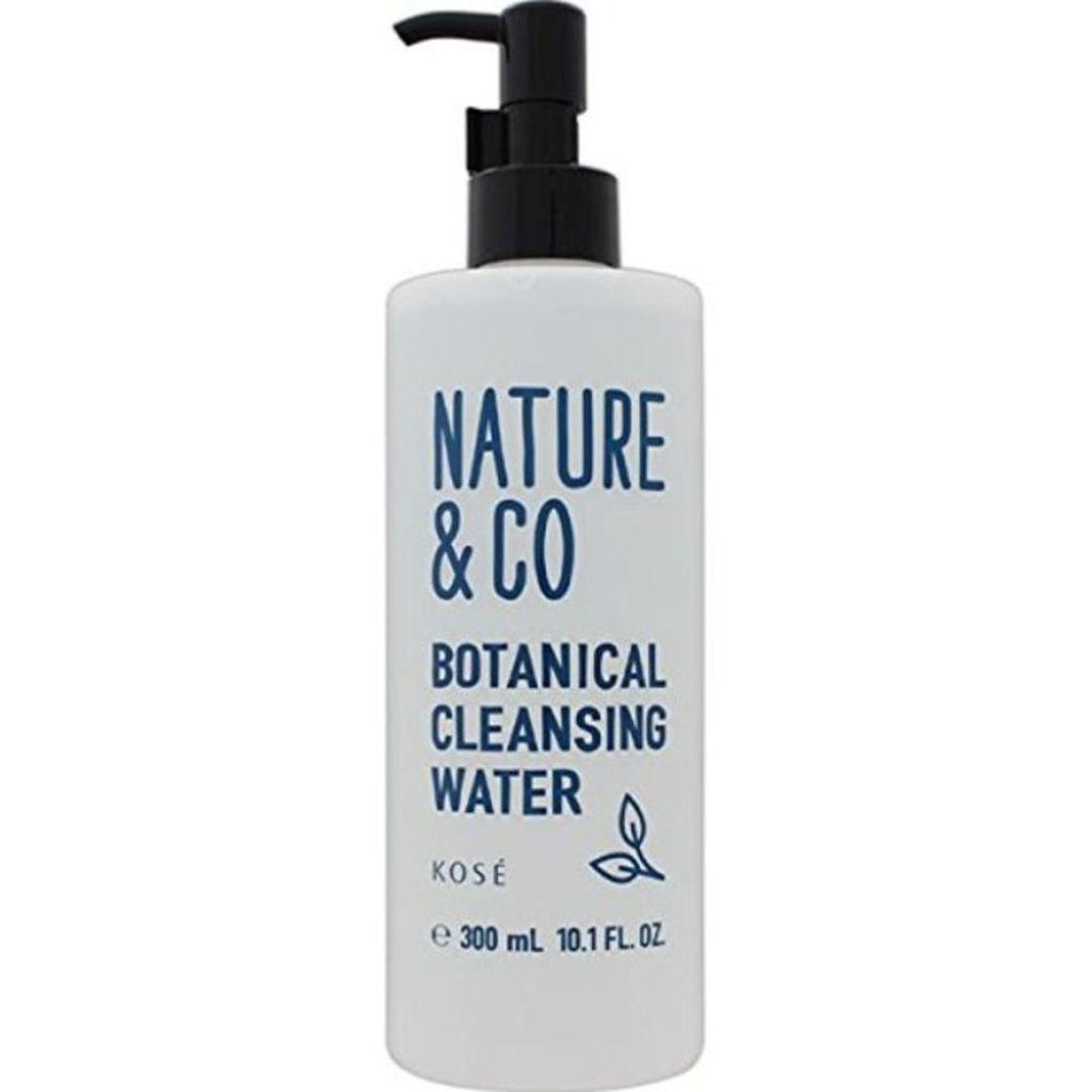 Nature & Coのボタニカル クレンジング ウォーター
