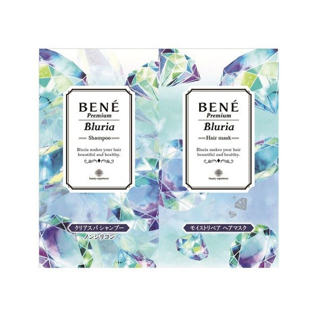 ベーネ プレミアム(Bene Premium) ブルーリア クリアスパ シャンプー/モイストスパ トリートメント