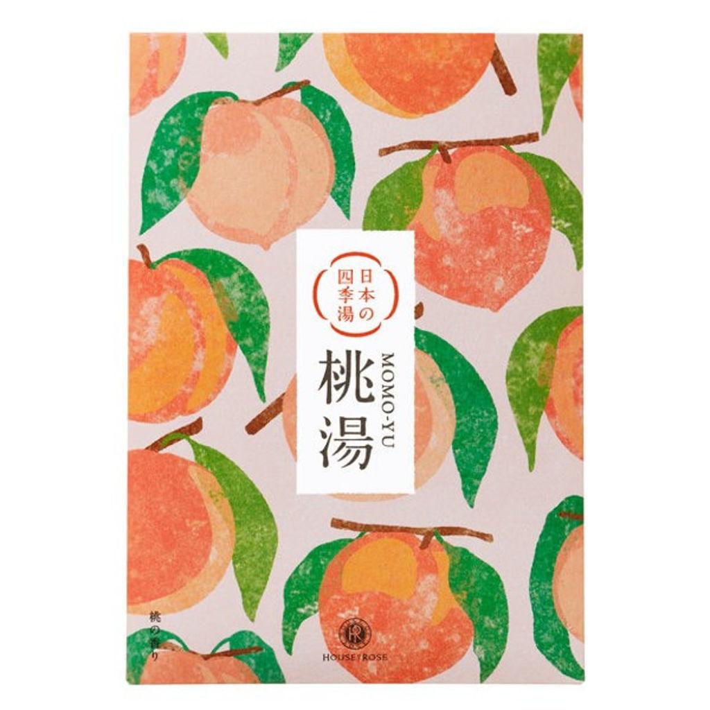 ハウス オブ ローゼ 日本の四季湯 桃の香り