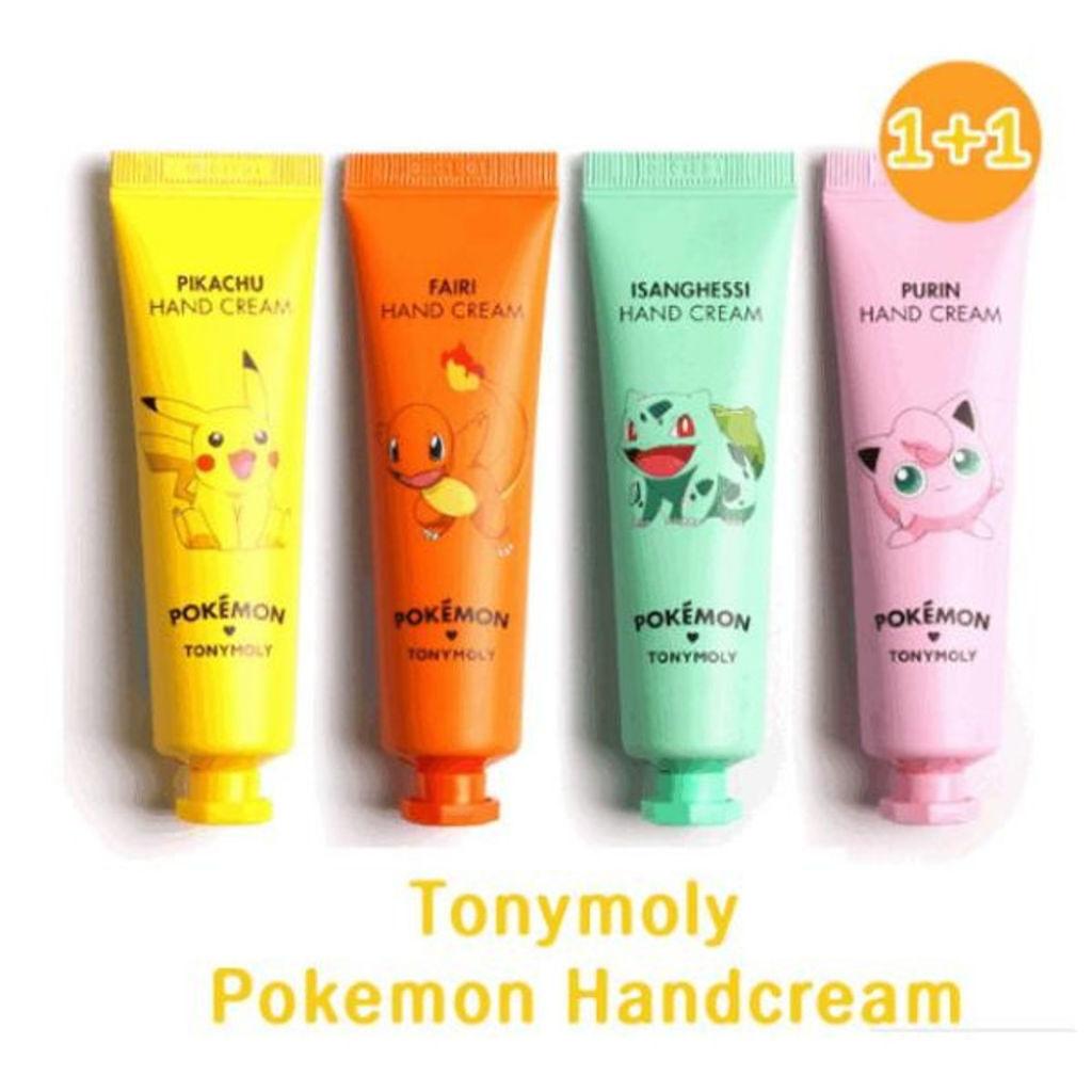 TONYMOLY(トニーモリー/韓国)のポケモンハンドクリーム