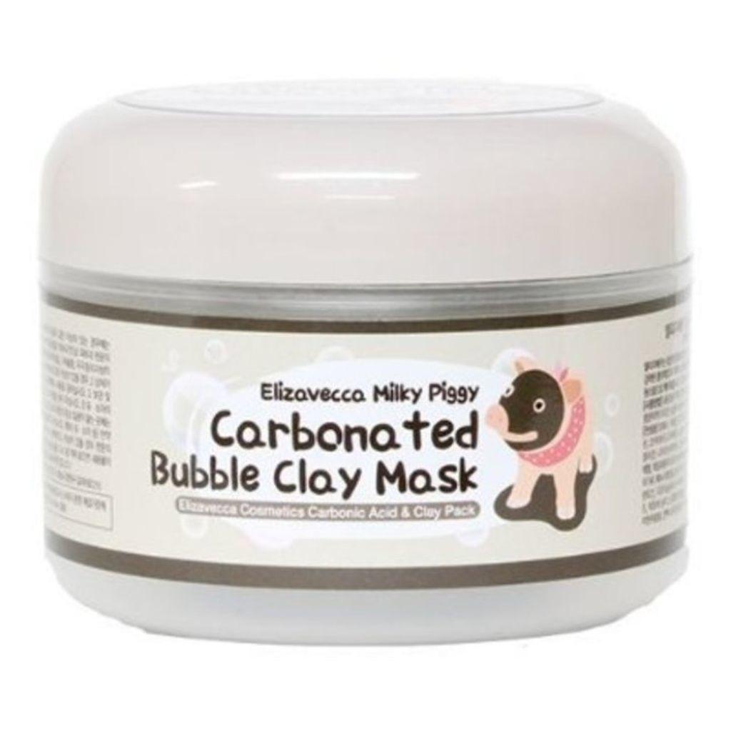Carbonated Bubble Clay Mask Elizavecca Milky Piggy
