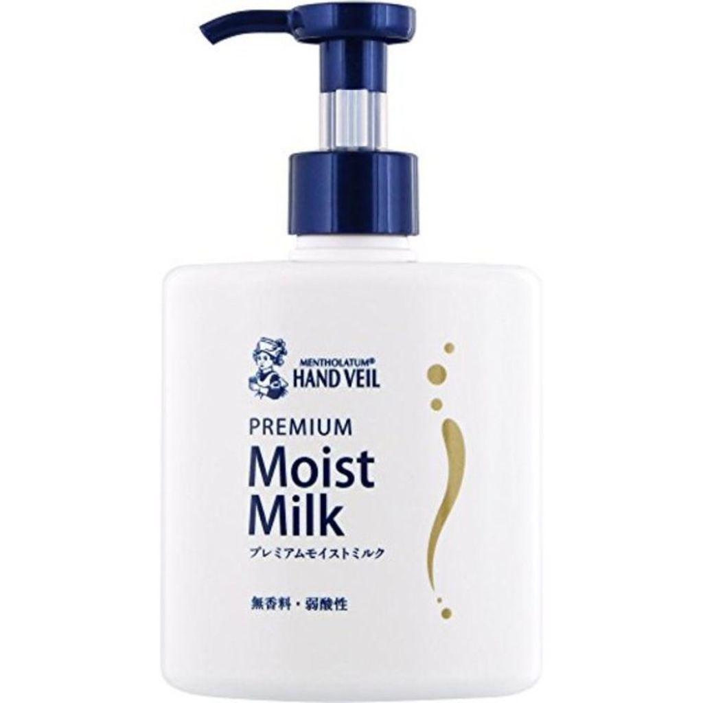 メンソレータム ハンドベール プレミアムモイストミルク