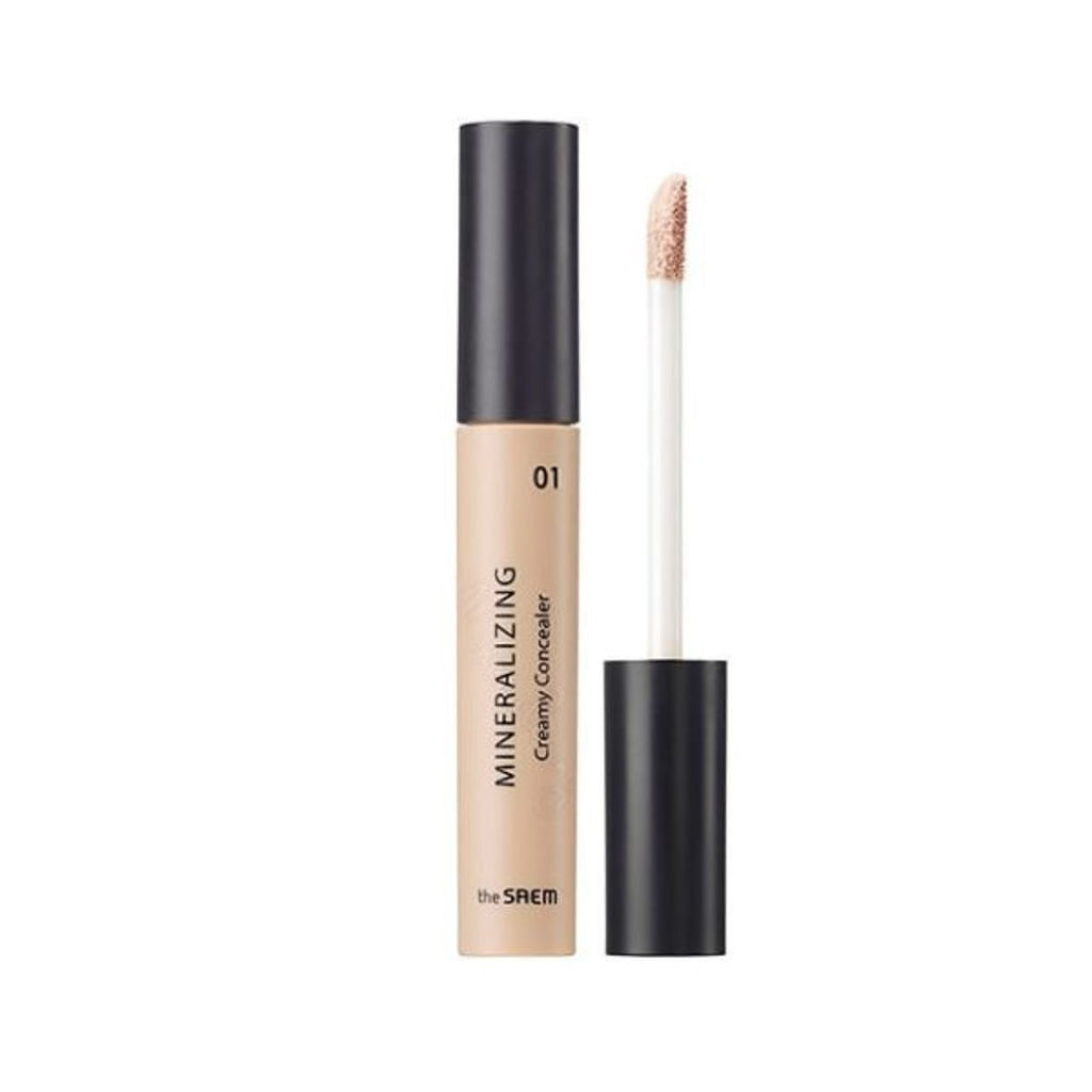 the SAEM(ザセム/韓国) MINERALIZING Creamy Concealer
