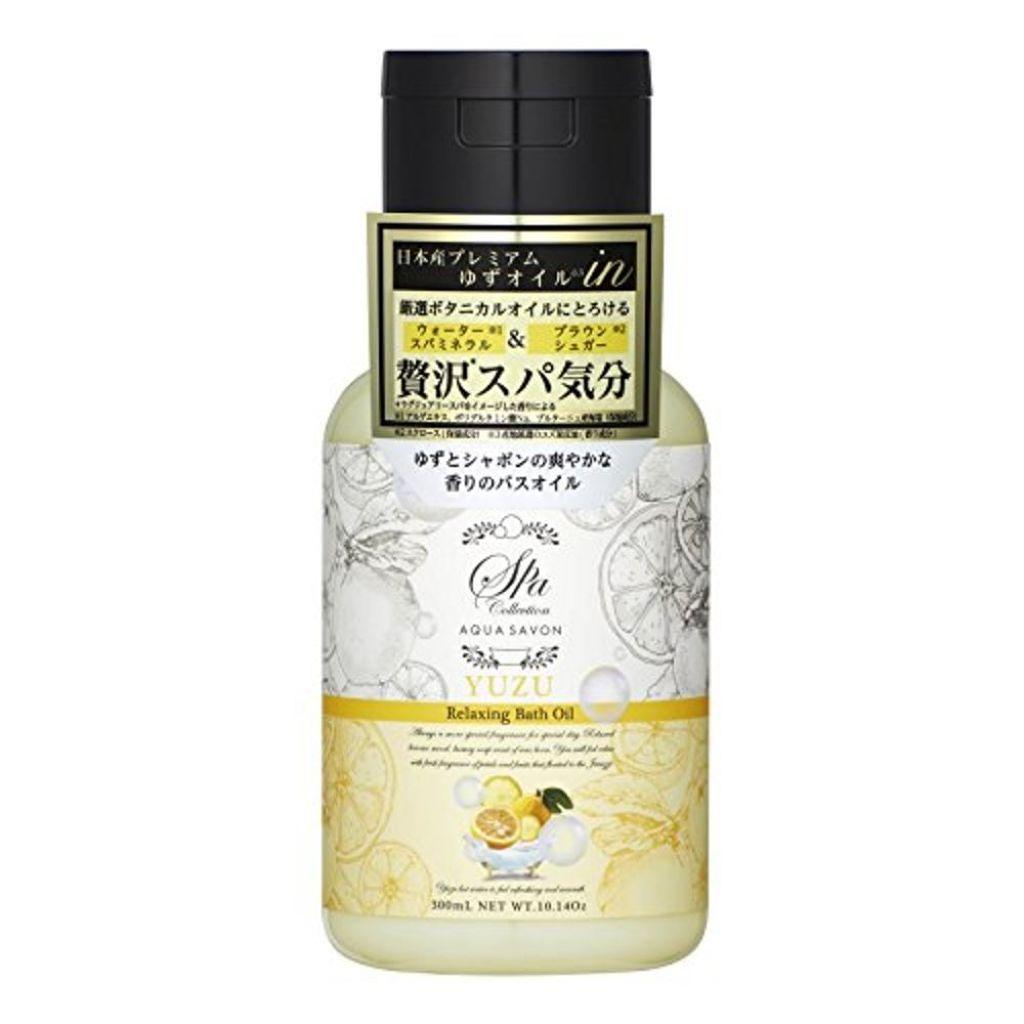 アクアシャボン スパコレクション リラクシングバスオイル ゆずスパの香り