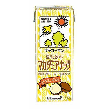 豆乳 マカダミアナッツ キッコーマン飲料