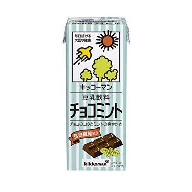 豆乳 チョコミント キッコーマン飲料