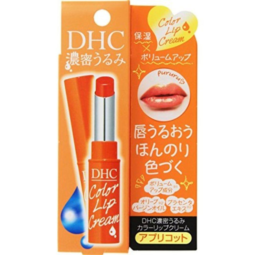 DHC DHC濃密うるみカラーリップクリーム(アプリコット)