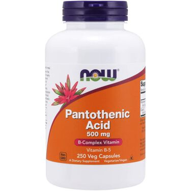 PantothenicAcid 500mg Now Foods