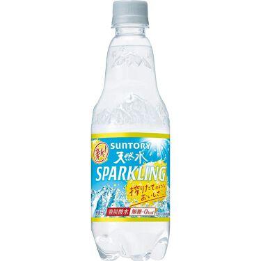 南アルプス天然水スパークリング レモン サントリー