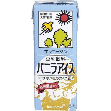 豆乳飲料 バニラアイス キッコーマン飲料