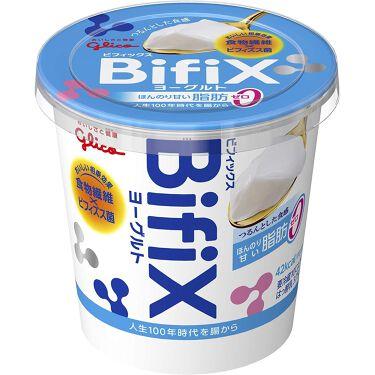 BifiXヨーグルト  ほんのり甘い脂肪ゼロ 375g  グリコ