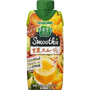 野菜生活100 Smoothie 甘夏スムージーMix カゴメ