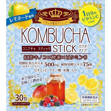 KOMBUCHA STICK パウダータイプ   レモネード風味 ユーワ
