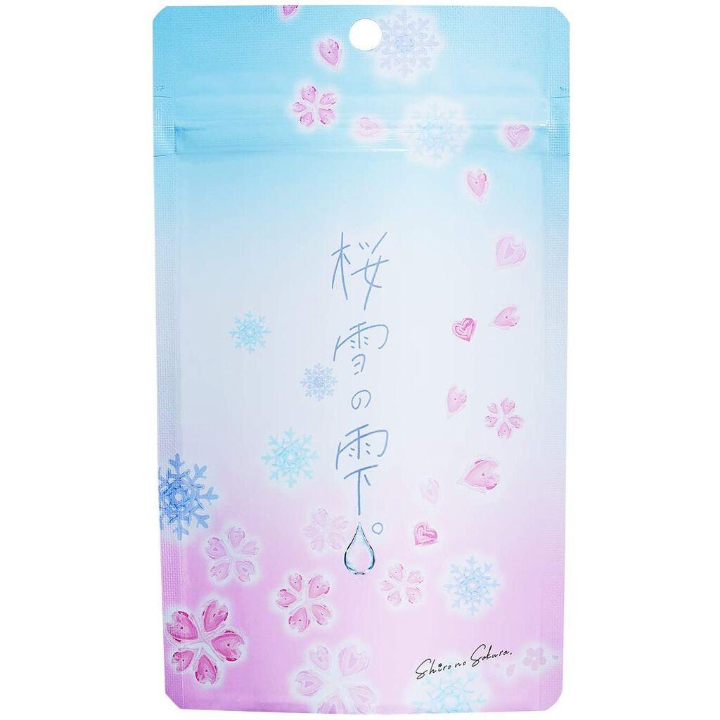 桜雪の雫。 Shiro no Sakura.(シロノサクラ。)