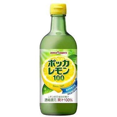 ポッカレモン100 Pokka Sapporo (ポッカサッポロ)