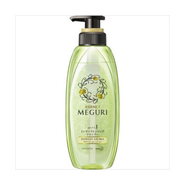 ASIENCE MEGURI インナークレンジングシャンプー ゼラニウム&ミントの香り