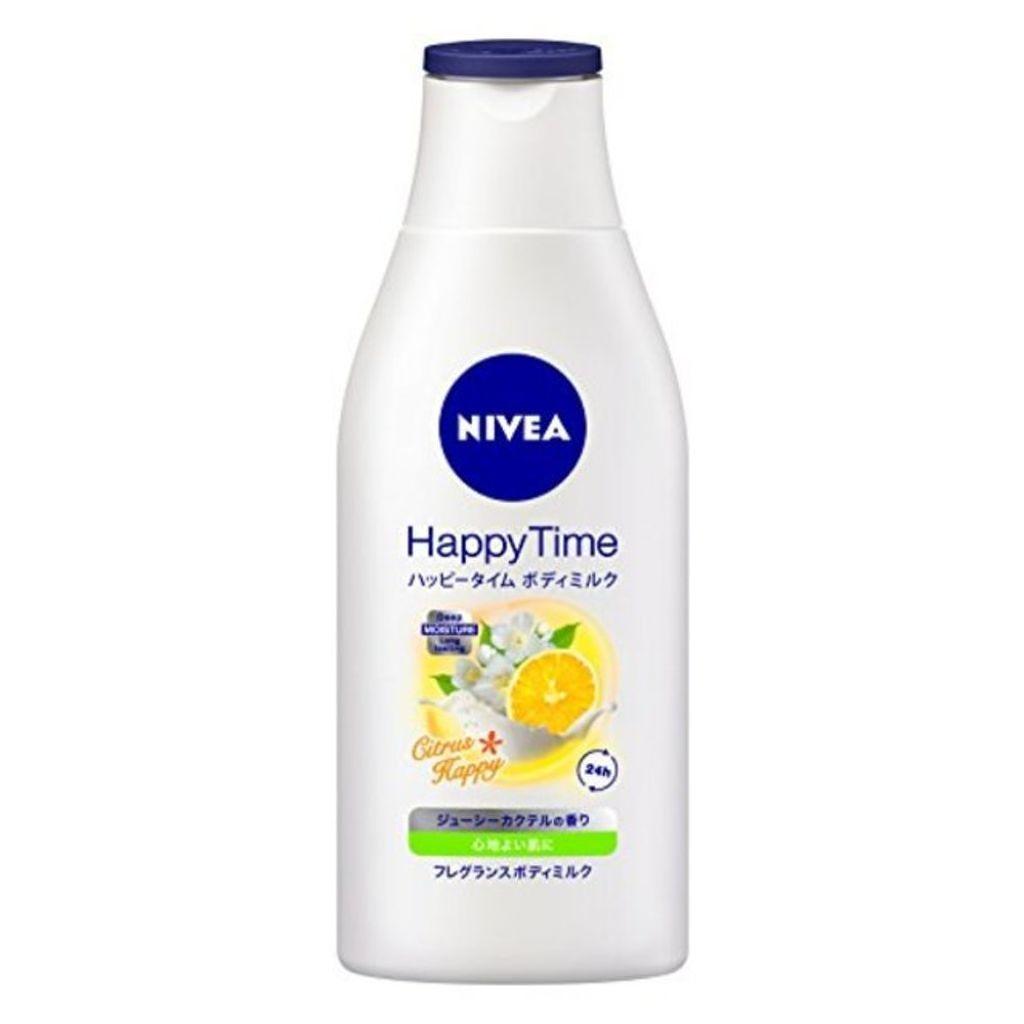 ニベア ハッピータイムボディミルク シトラスハッピー