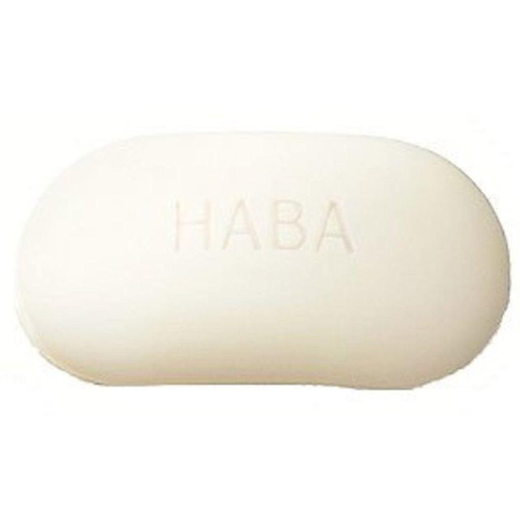 絹泡石けん HABA