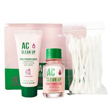 ETUDE HOUSE ACC ピンクパウダー SPセット