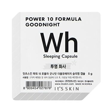 POWER 10 FORMULA GOODNIGHT SLEEPING CAPSULE WH / It's skin