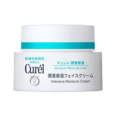 潤浸保湿フェイスクリーム / Curel
