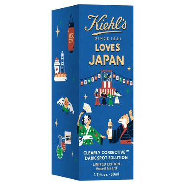 DS クリアリーホワイト ブライトニング エッセンス Kiehl's LOVES JAPAN 限定エディション 50ml