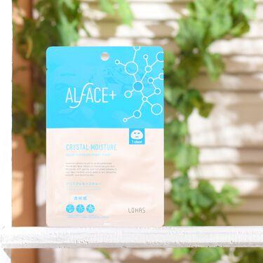 クリスタルモイスチャー アクアモイスチャー シートマスク ALFACE+