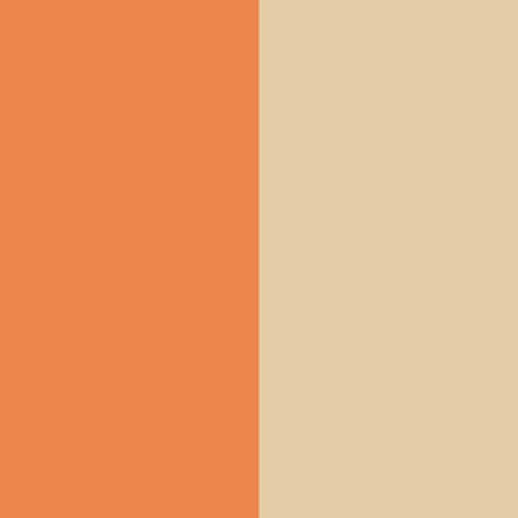 デュアルアイシャドウ NDU02 サンセットオレンジ