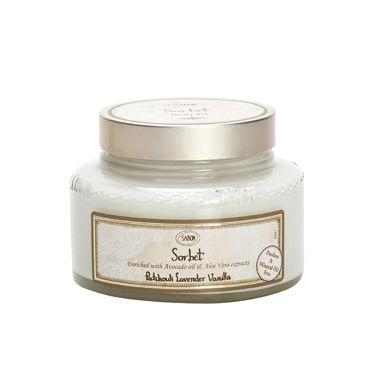 シャーベットボディジェル Patchuoli Lavender Vanilla