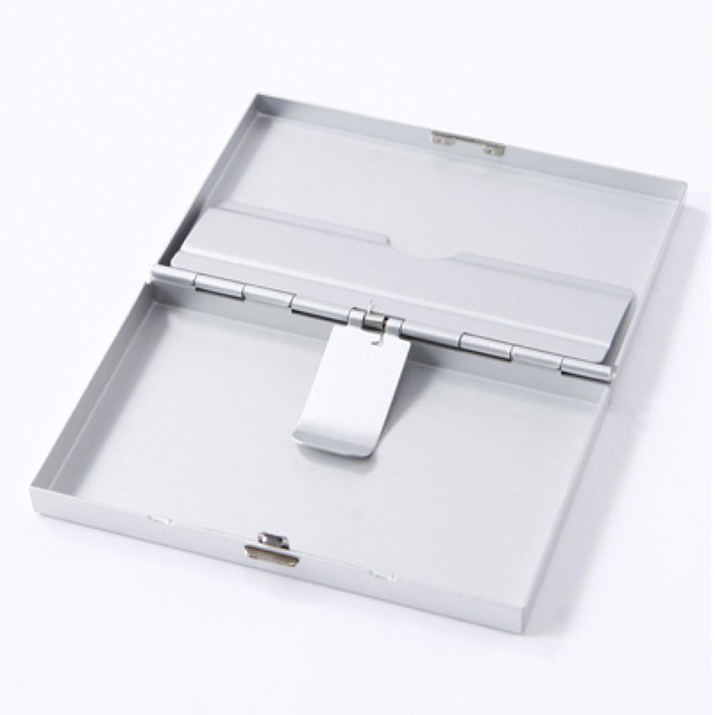 アルミ カードケース プッシュ式