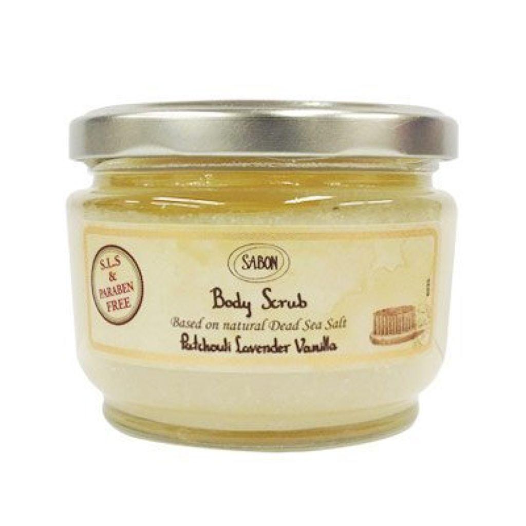 ボディスクラブPatchuoli Lavender Vanilla